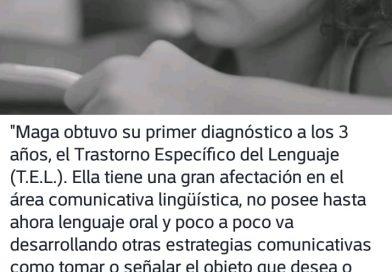 """""""Hablemos de Autismo:Maga es una niña azul"""""""