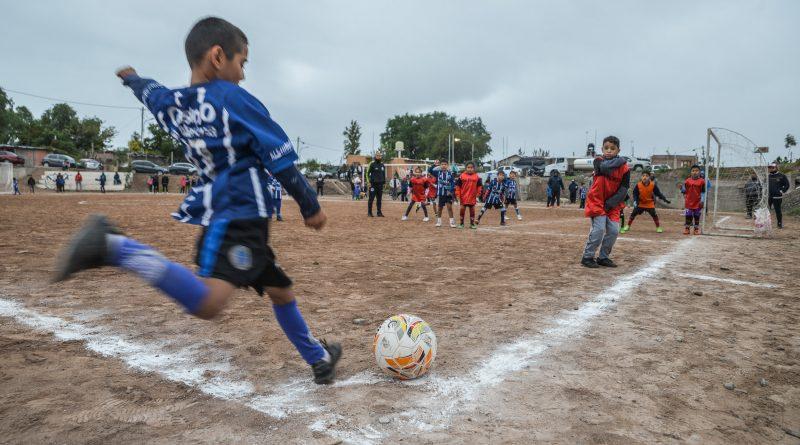 El torneo de fútbol infantil Unidad del Oeste disputó su gran final