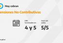 CALENDARIOS DE PAGO DE HOY MIÉRCOLES 5 DE MAYO