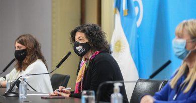 Vizzotti anunció que el 21 de mayo llegarían al país unas 861.000 vacunas Astrazeneca